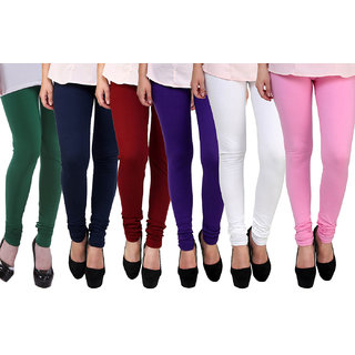 FnMe Girls Leggings - set of 6
