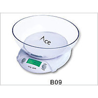 NEW Kitchen Weighing Scale 7Kg Displays Units in KG, OZ, LB, With Measure Bowl