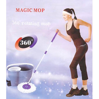 Mop Magic Mop Rotating Spin Wash Cleaner