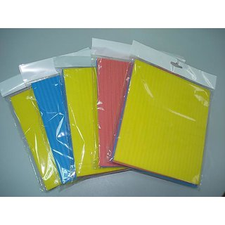 5pc Super Absorbent Cleaning Sponge/scrubber/tissue/glass cleaner - H1CK11
