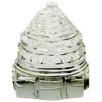 White Crystal Shri Yantra For Good Luck
