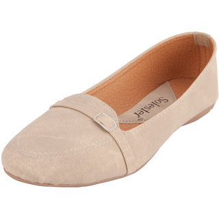 Solester Women's Cream Bellies