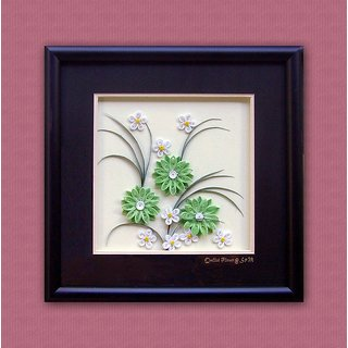 buy paper quilling wall hanging online get 10 off rh shopclues com quilling wall hanging tutorial quilling wall hanging ideas