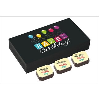 Chococraft- Celebration Box With Colorful Birthday Candies -6Pcs Box