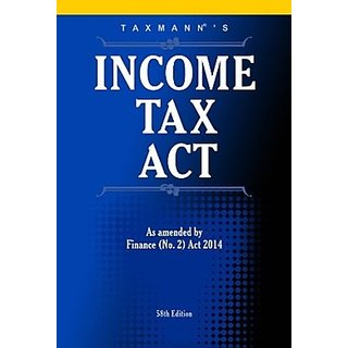 Shub Income Tax Act English Paperback Blue