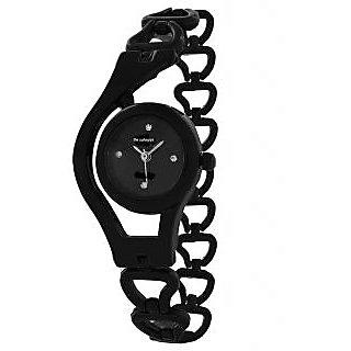 Women Fancy Black Watch For Girls