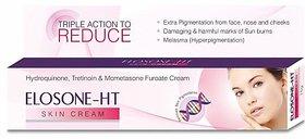 Elosone-HT Anti Pigmentation Triple Action Skin Anti-Wrinkle Cream For Normal Skin - (No of Units 1) - 15g
