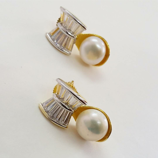 American Diamond  Tops With Pearl