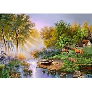 RAJITHA ARTIST Nature Painting for Art Lover