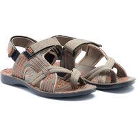 Provogue MenS Beige Casual Sandals (PV1107-Beige-45)