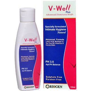 V Well Plus Advanced Intimate Wash
