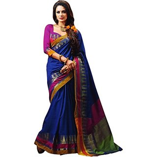 Rasidresses Chettinadu Handloom Cotton Sari