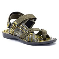 Provogue Men's Multicolor Velcro Sandals