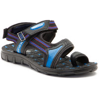 Provogue MenS Blue And Black Casual Sandals PV1108-Blue/Black