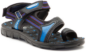 Provogue Men's Blue  Black Velcro Sandals