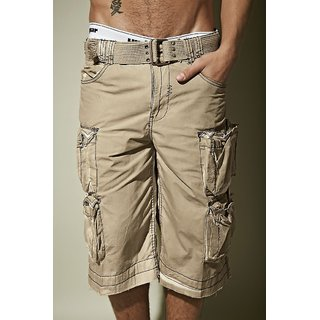 5648130d Cargo Shorts In Khaki for Men Online India