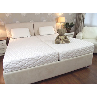 kurl Double bad Mattress -King Size - 78x70x4 Inches (LxBxH)
