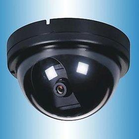 DUMMY CCTV fake dome dummy camera with flashing light 1500B