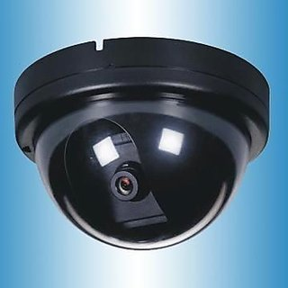 DUMMY CCTV fake dome dummy camera with flashing light 1500B