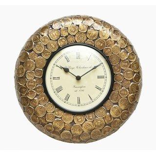 Royal Vintage Coin Wall Clock