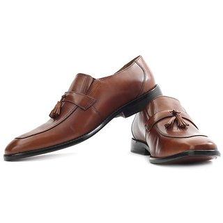 Park Avenue Genuine Leather Slip On Shoes Size 10 Size 44