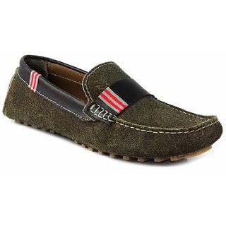 SATMARC Hicks Olive Men Loafers