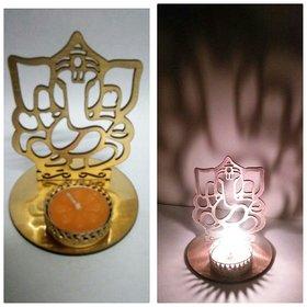 New Shadow Diya Crowned Ganesha