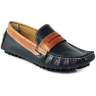SATMARC Anthony Black Brown Men Loafers