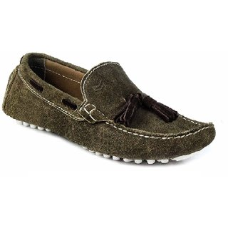 SATMARC Bruni Olive Men Loafers