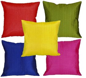 Mesleep Multi Stripe Quilted Cushion