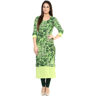 Green Coloured Kurta By Chitwan Mohan