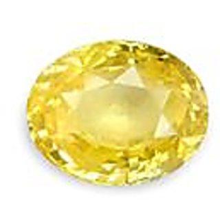 Jaipur gemstone 5.25carat yellow sapphire (pukhraj)