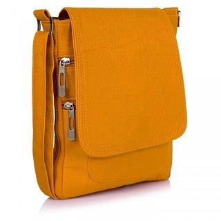 Prettyvogue Fashionable Womens Mustered Slingbag-PVSL1317