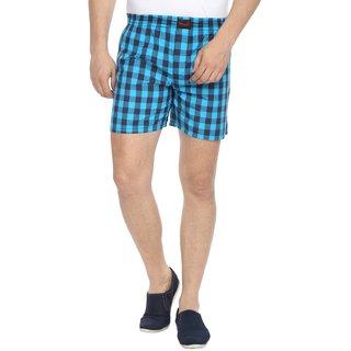 Wajbee Mens 100 Percent Cotton Boxer Short