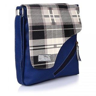 Prettyvogue Fashionable Womens  Blue   Slingbag-PVSL1318