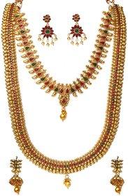 Beeline Kemp Stone Kaju Designed Necklace Sets Dulhan Wedding Wear Kemp Choker Style