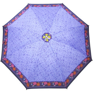 Fendo Printed Blue 2-Fold Umbrella