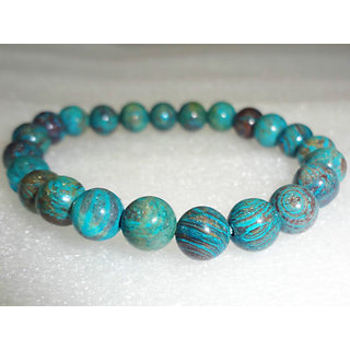 Chrysocolla BraceletProtects Against Pregnancy IssuesAid in Child Development