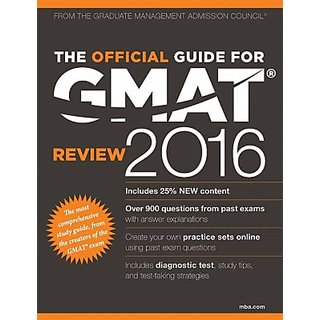 The Official Guide for GMAT Review 2016 (English) (Paperback)