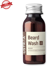 Ustraa By Happily Unmarried Woody Beard Wash (60 Ml)