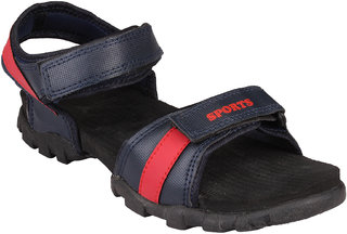 CLYMB R-03 BLUE RED FLOATER SANDAL