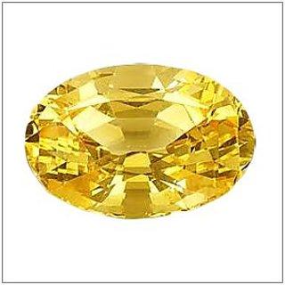 Jaipur gemstone3.50 ratti yellow sapphire (pukhraj)