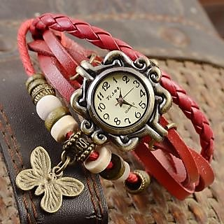 Red Vintage Watch