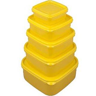 Nayasa Polypropylene Container - Set Of 5
