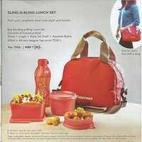 Tupperware New SLING-A-BLING LUNCH SET
