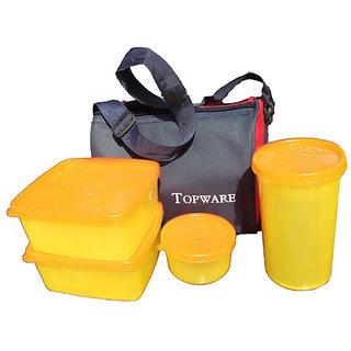 Topware Yellow Lunch Box