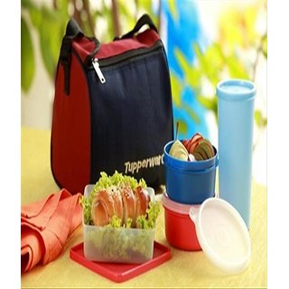 Tupperware Best Lunch Plastic Containers 4pcs