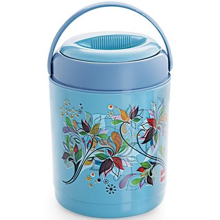 Cello Ranger Insulated Lunch Carrier with 5 Container, Blue