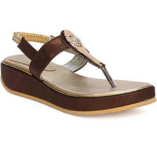 Fadrin Brown Suede Sandals