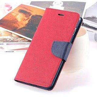 New Mercury Goospery Fancy Diary Wallet Flip Case Back Cover for Samsung Galaxy J2 (Pink)